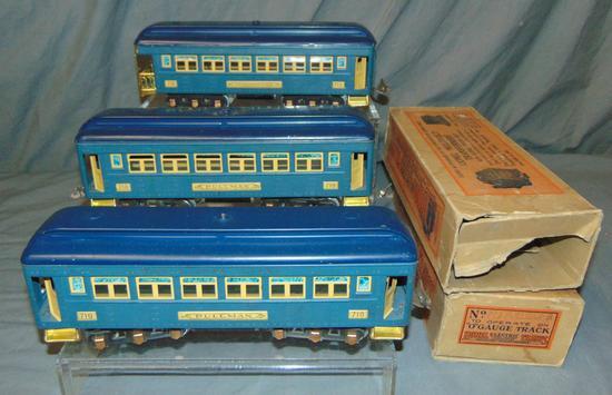 3 Nice Lionel 710 Passenger Cars