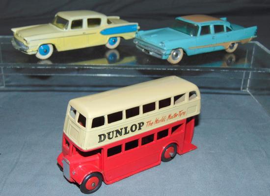 3 Clean Dinky Vehicles