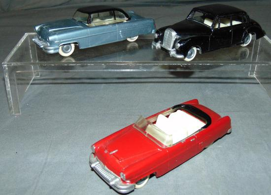 3 Early Solido Vehicles