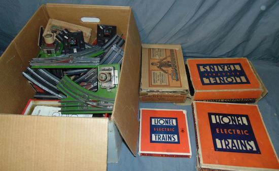 Large Box Prewar Track & Switches
