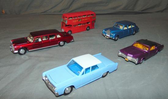 5Pc Dinky Vehicle Lot