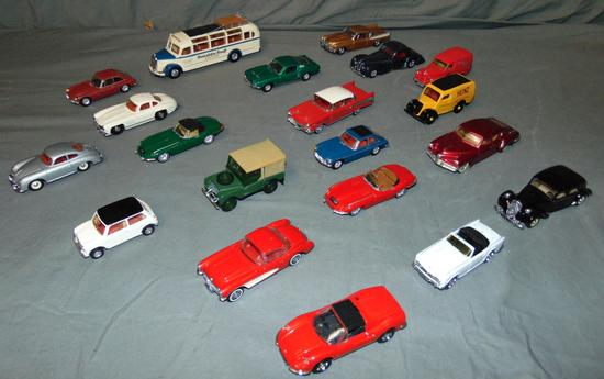 20 Later Dinky Toy Vehicles