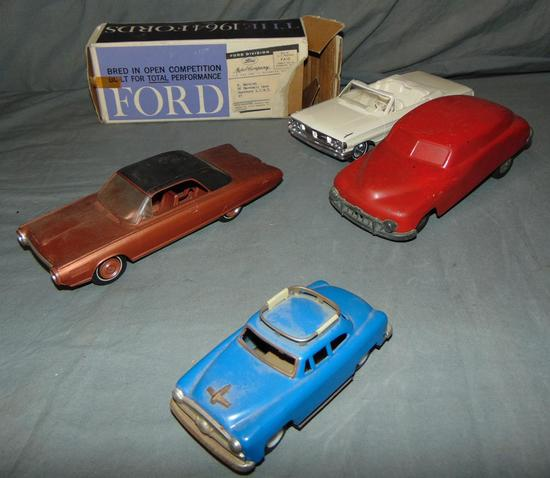 4Pc Toy Vehicle Lot