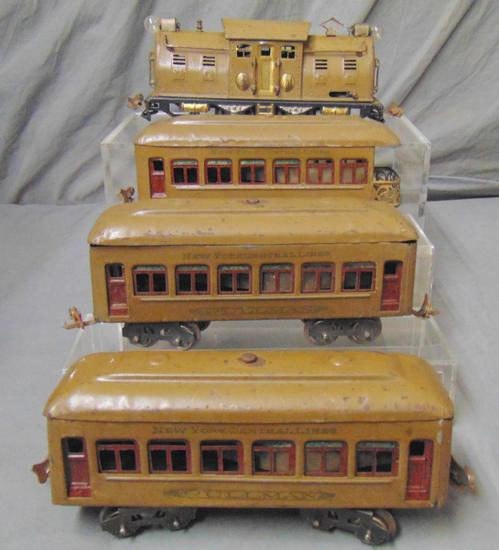 4Pc Early Lionel 254 Set (98)