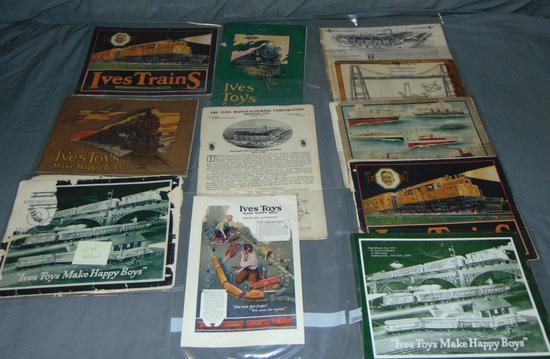 Ives Catalogs Lot