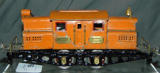 Scarce Ives 3255R Orange Electric