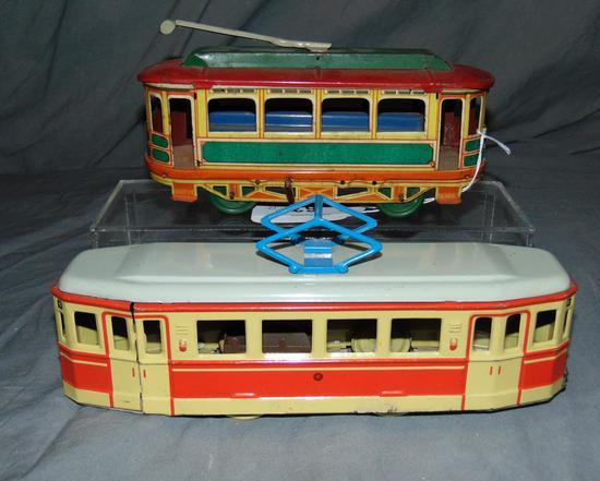 2 Gunthermann Tin Trolleys