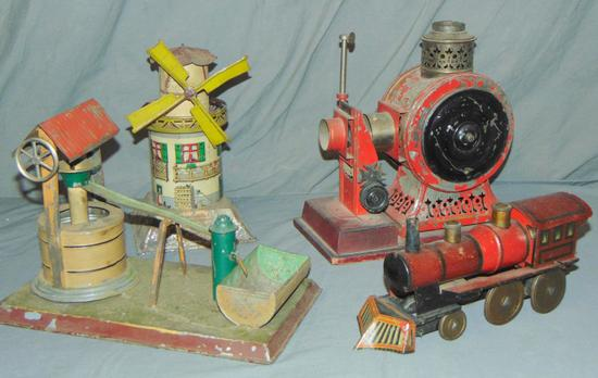 4 Early German Toys