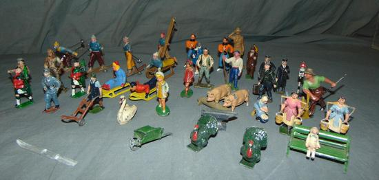 40+ Pc Lead Figures Lot