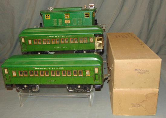 Uncataloged American Flyer ST GA Set