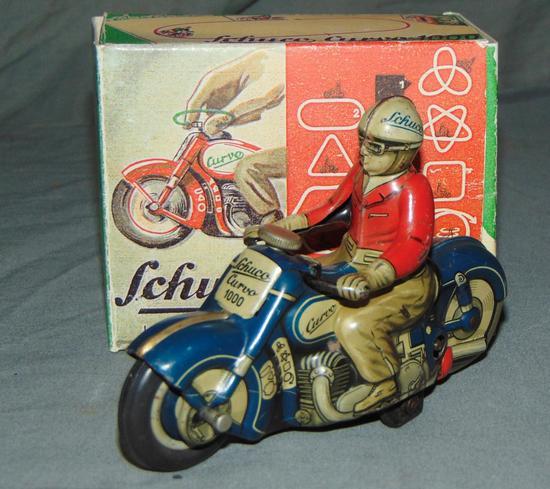 Clean Schuco Curvo 1000 Motorcycle
