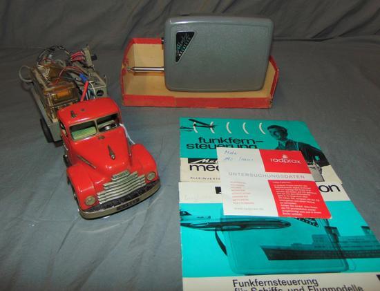 Rare Schuco 550 HEGI TRUCK Display Model