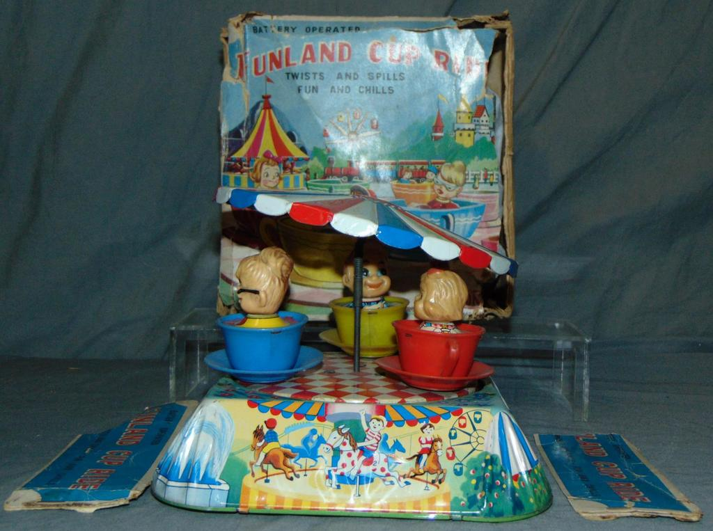 Battery Operated Funland Cup Ride.