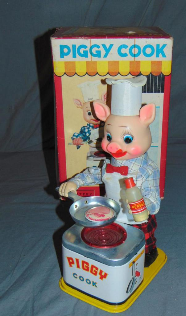 Battery Operated Piggy Cook.