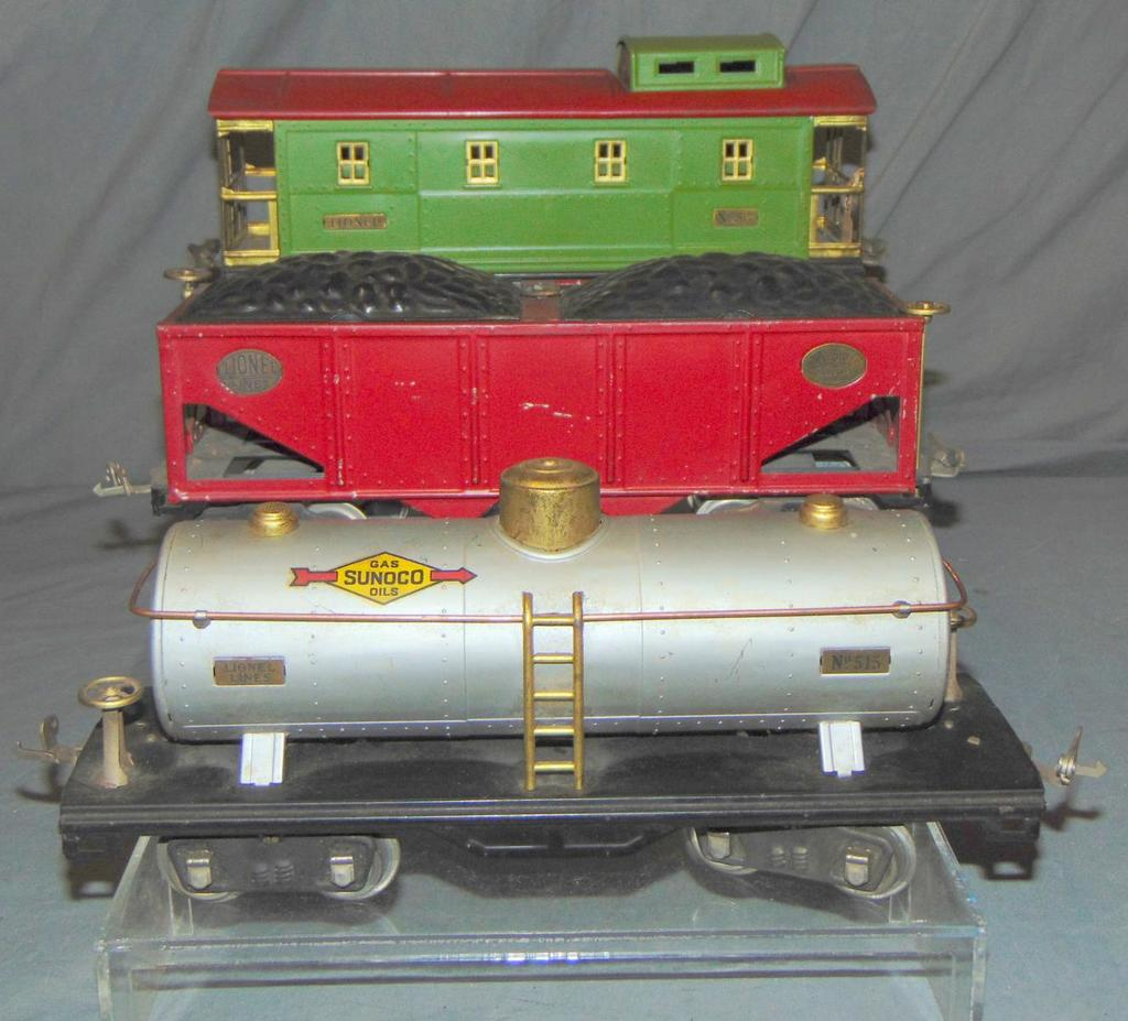 3 Lionel ST GA Freight Cars