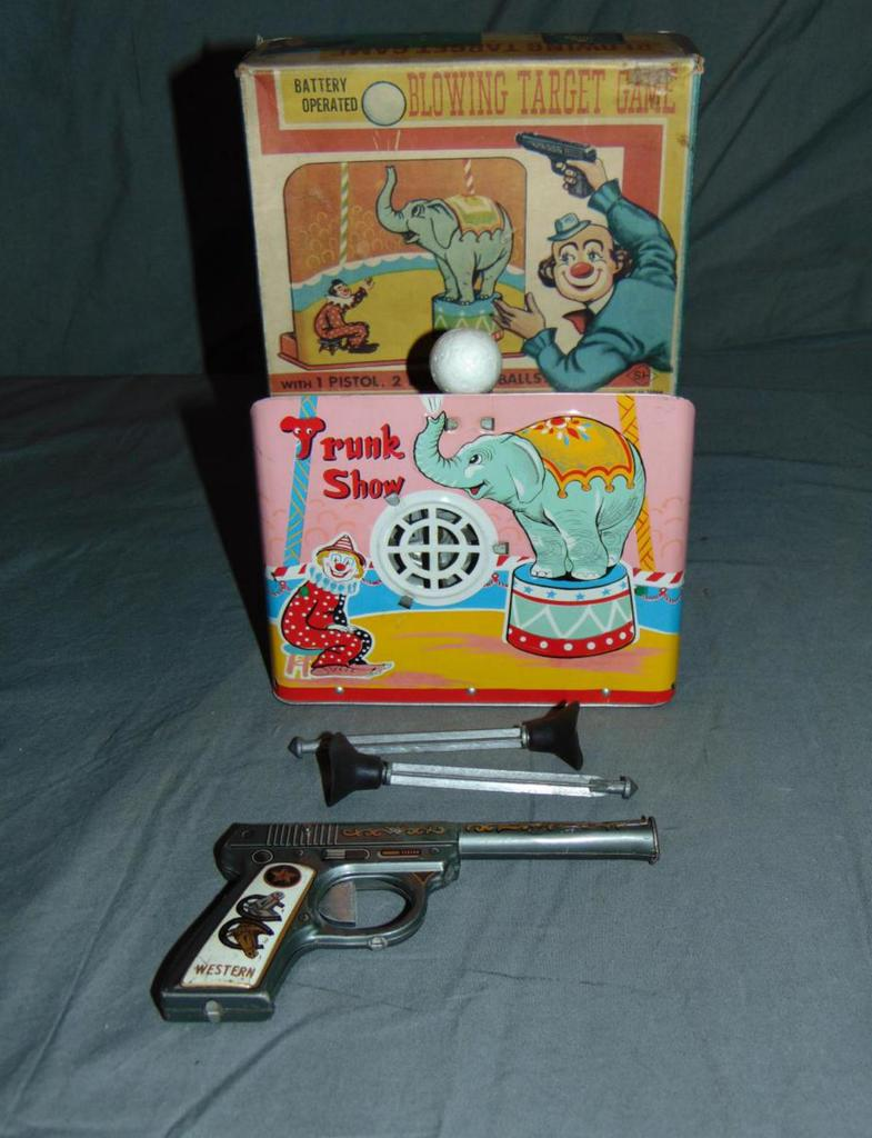 Battery Operated Blowing Target Game.
