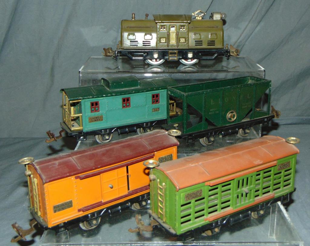 Nice Early Lionel 252 Set (293)