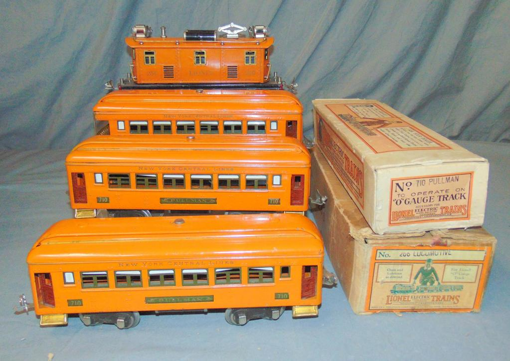 Nice Early Lionel 256 Passenger Set