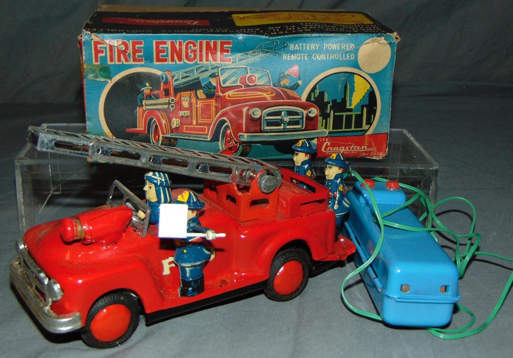 Boxed Battery Operated Cragstan Fire Engine