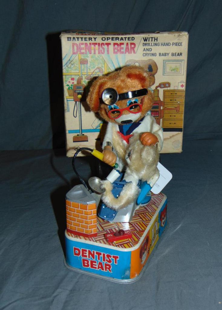 Japanese Battery-Operated Dentist Bear.