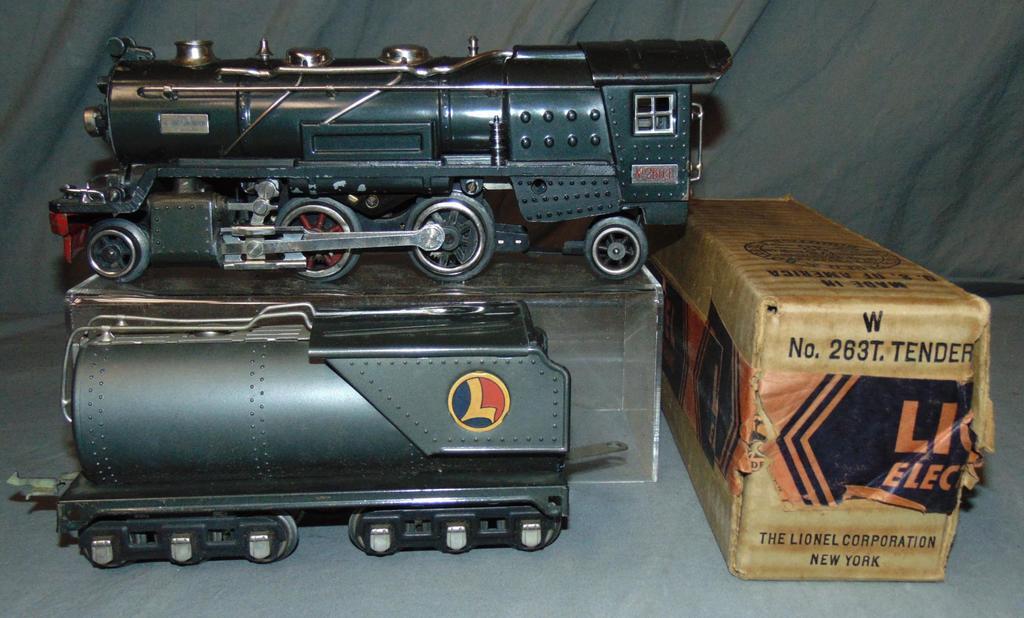 Lionel 260E Steam Locomotive