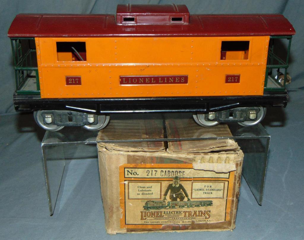 Clean Boxed Lionel ST GA 217 Caboose