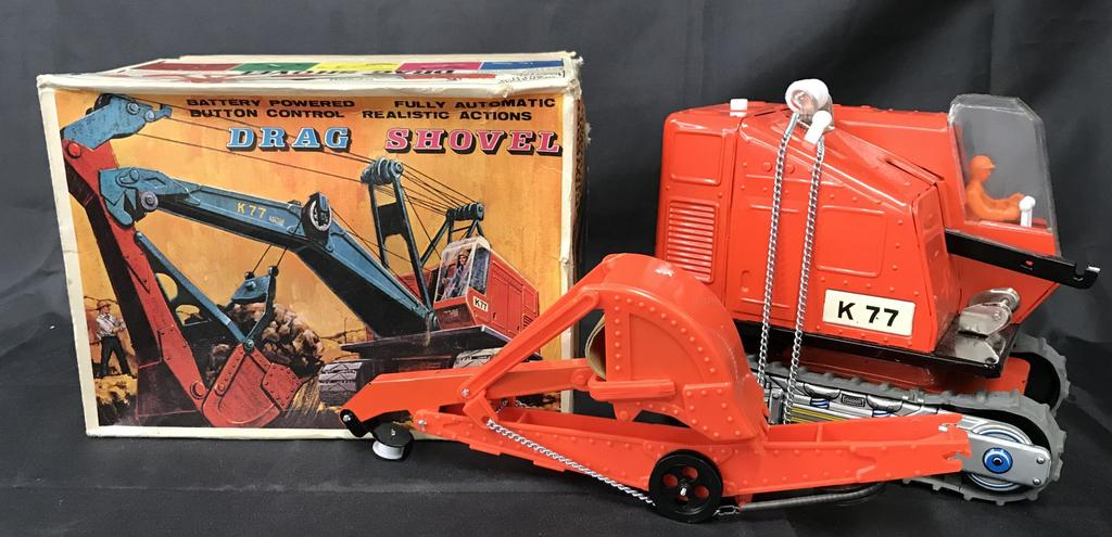 Boxed Battery Operated Drag Shovel
