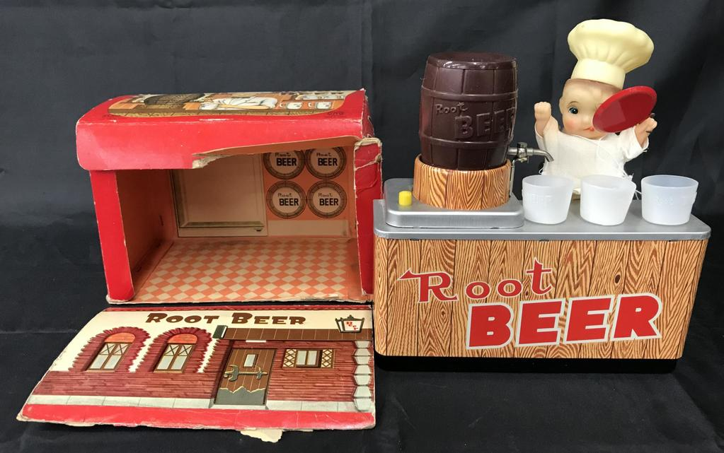 Boxed Battery Operated Root Beer Counter Flare Toy