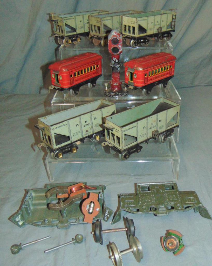 Dorfan Train & Accessory Lot