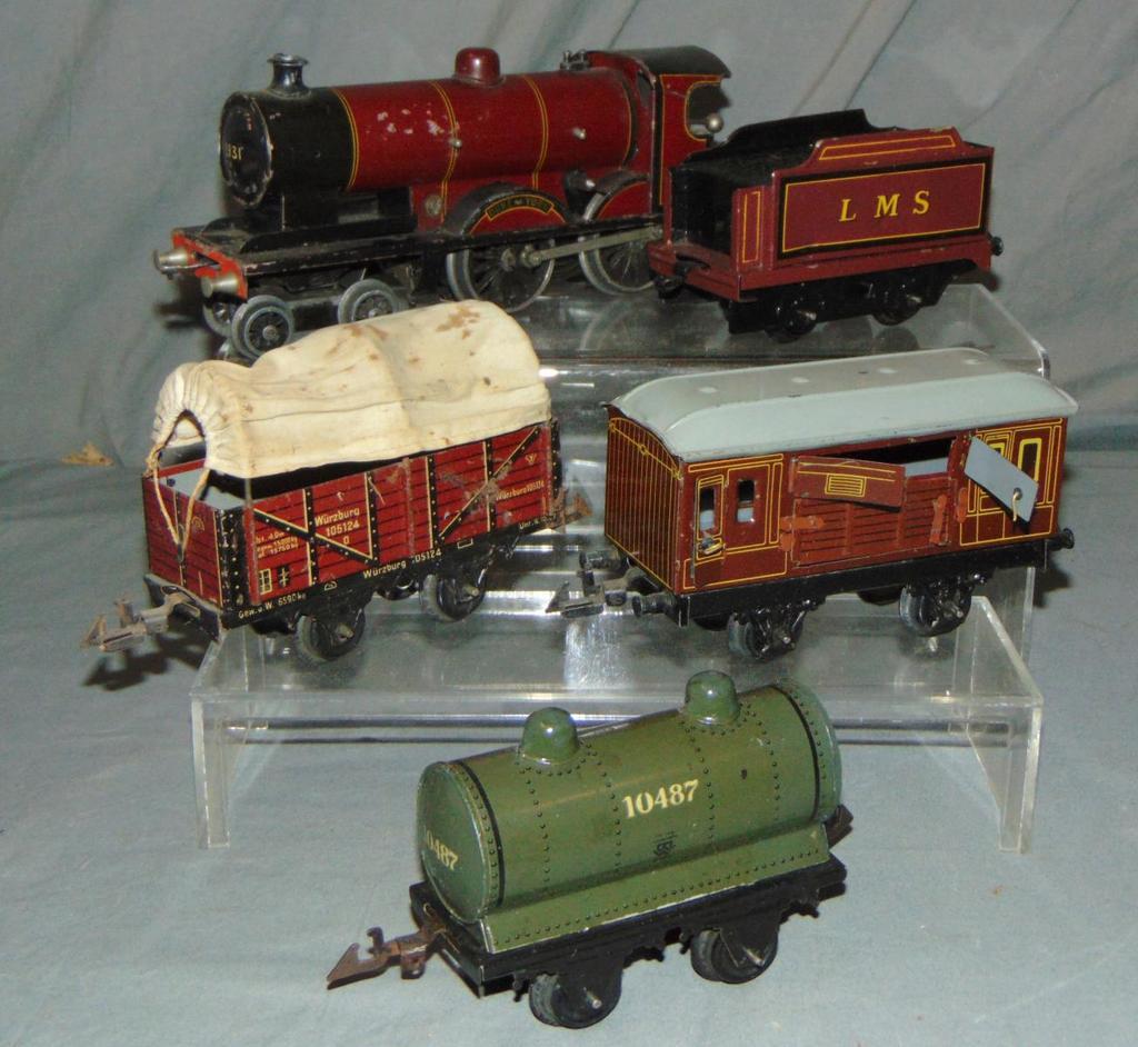 Bing Steam Freight Set