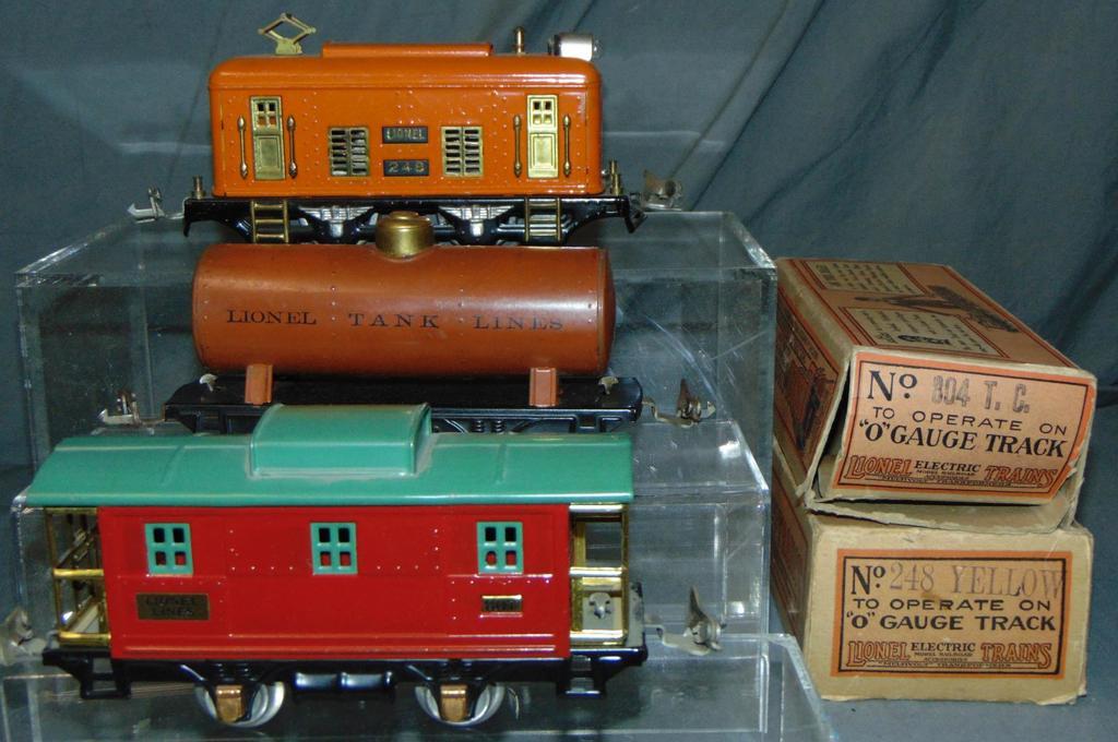 3Pc Lionel 248 Freight Set