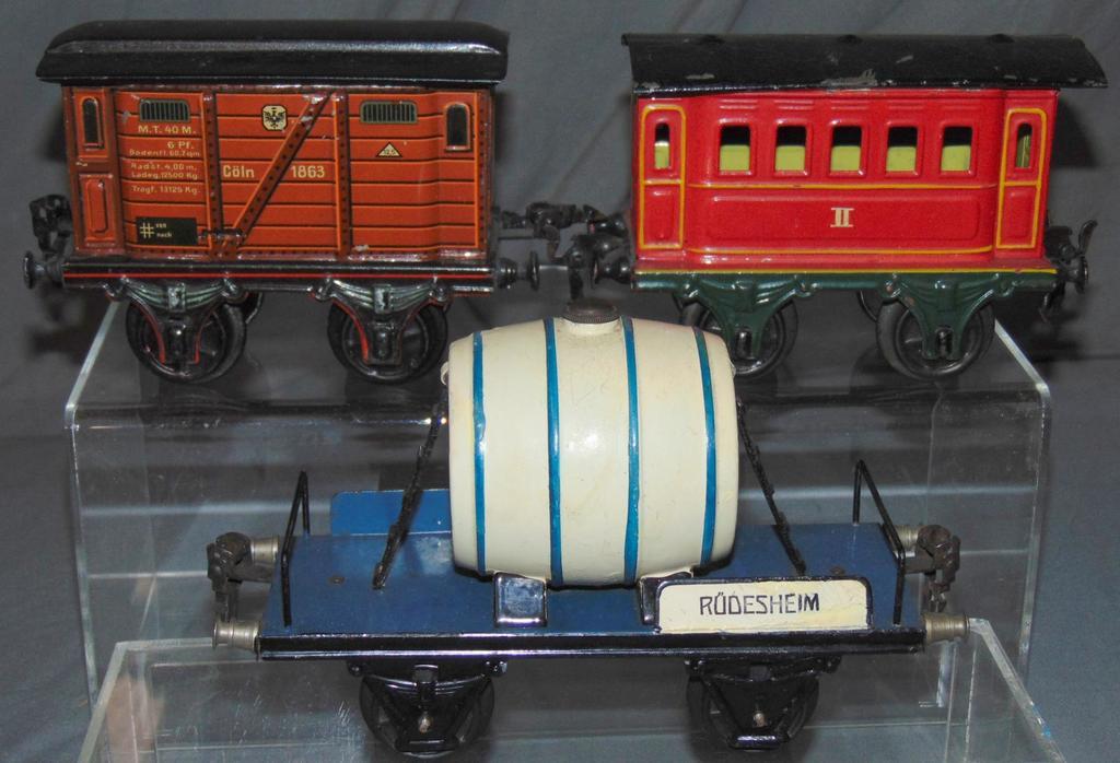 3 Assorted Marklin Trains