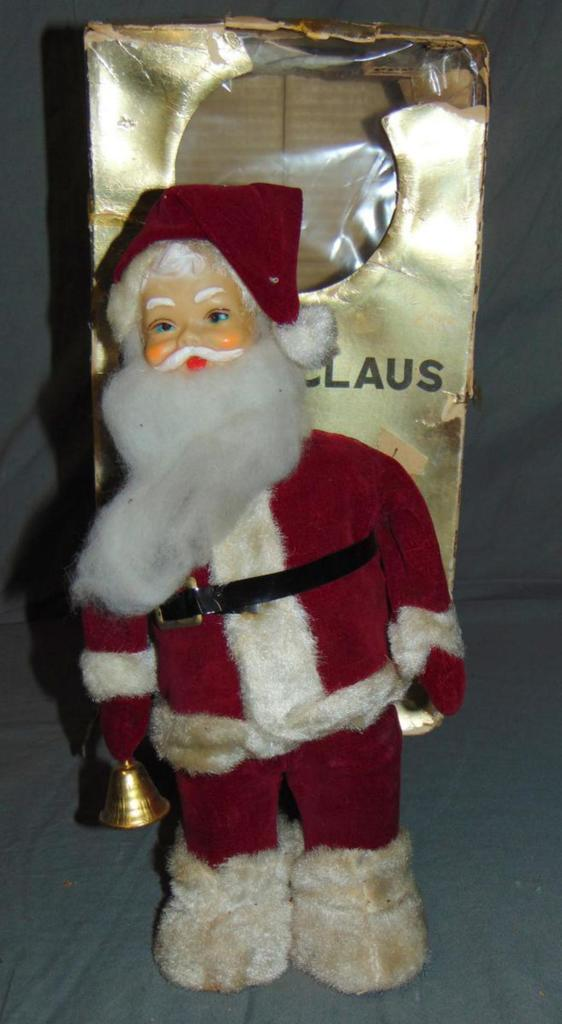 Boxed Battery Operated Santa Claus