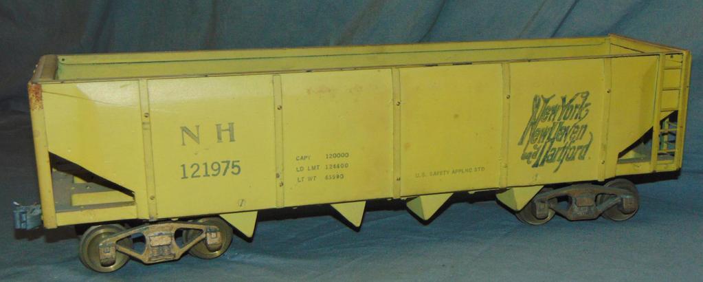 Unusual Scale ST GA NYNH&H Gondola