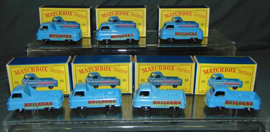 Matchbox Store Stock Lot of Seven.