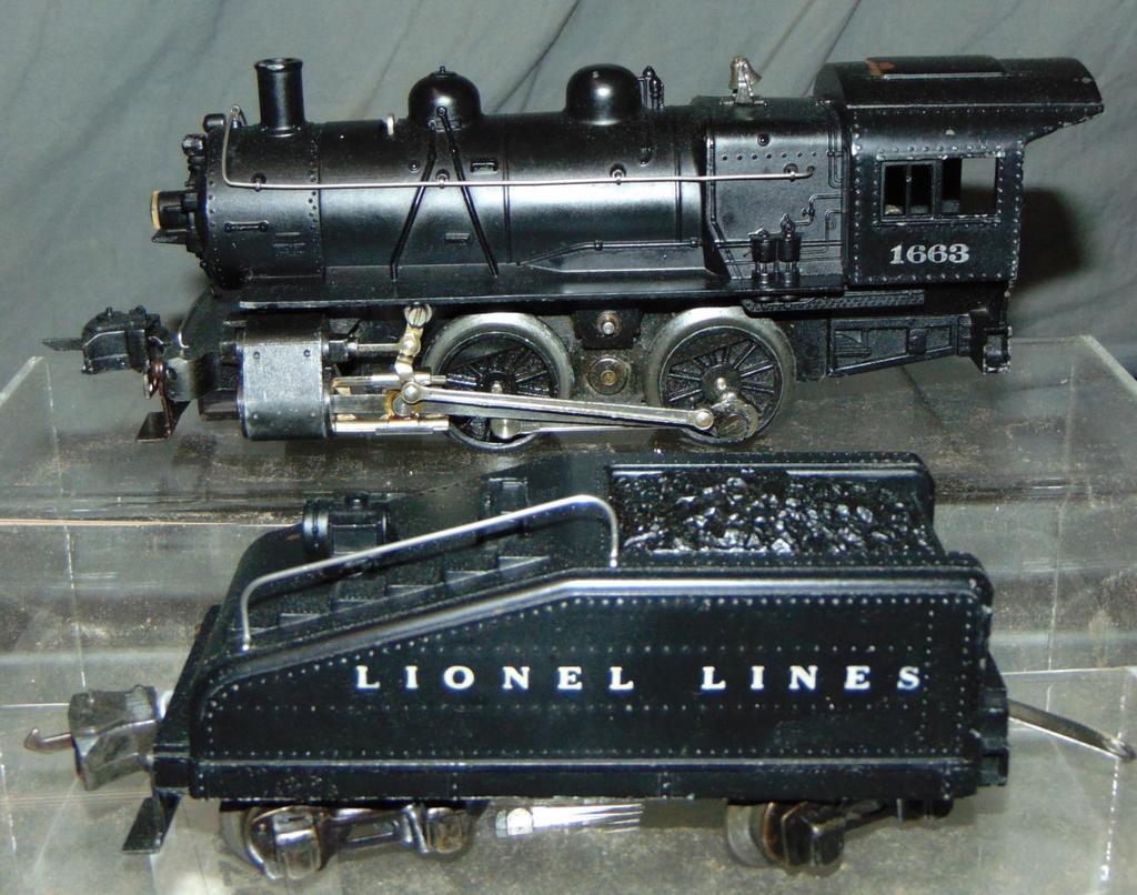 Unusual Lionel 1663 Steam Switcher