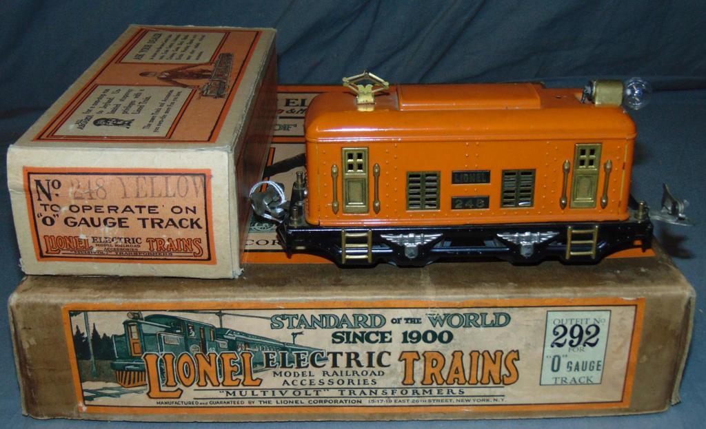 Partial Boxed Lionel Set 292