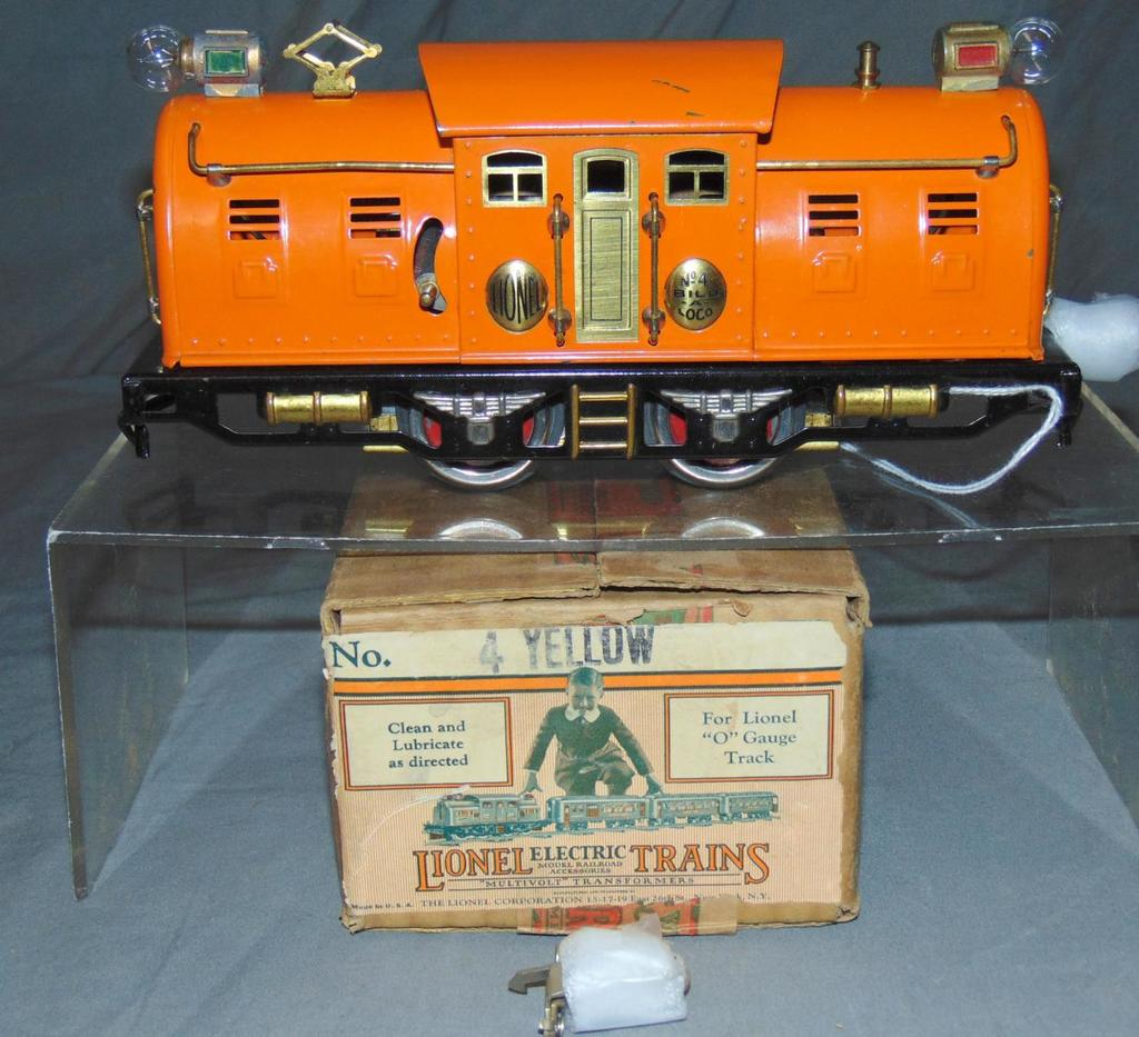 Super Boxed Lionel 4 Electric