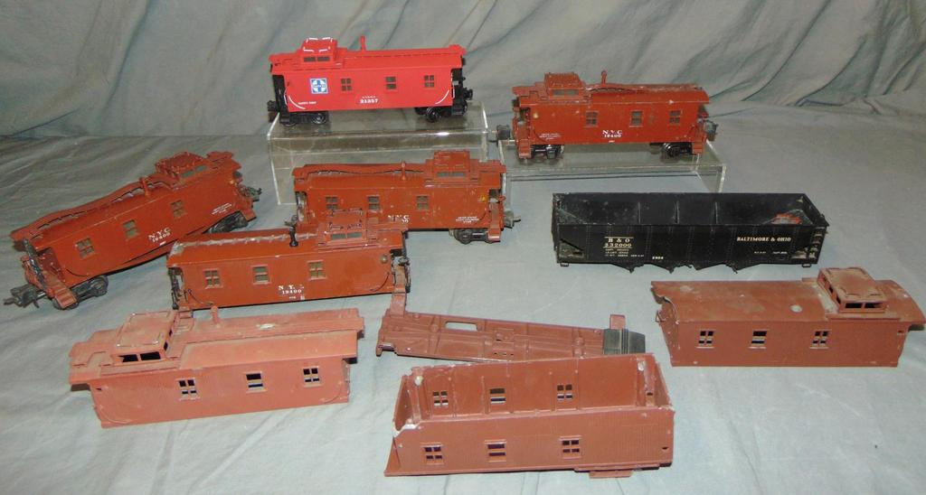Group Lionel Semi-Scale Freight Car Projects