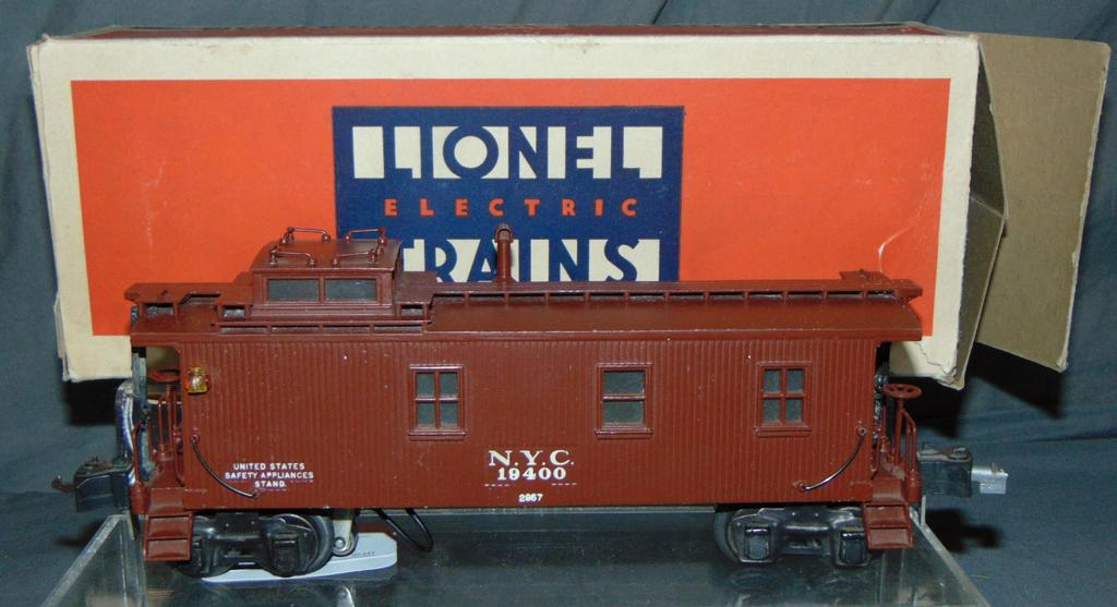 LN Boxed Lionel 2957 NYC Semi-Scale Caboose