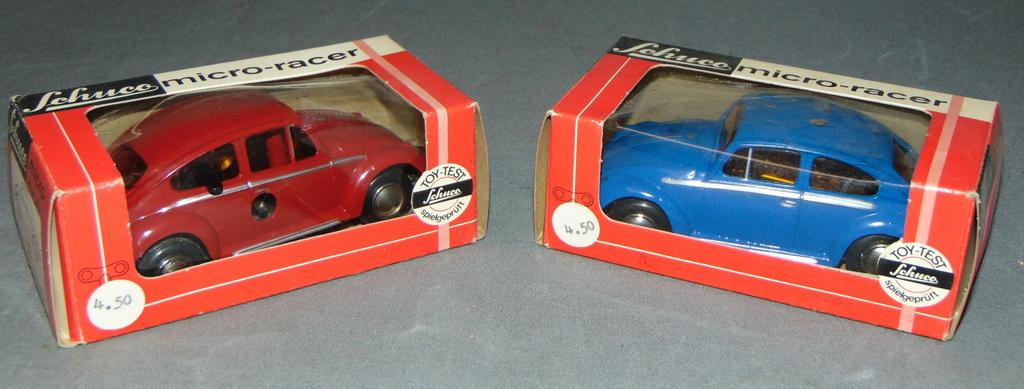 2 Boxed Schuco 1046 VW Micro-Racers