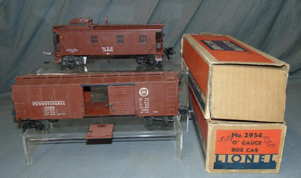 Boxed Lionel 2954 & 2957 Semi Scale Freights