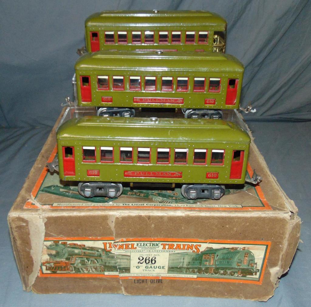 Partial Boxed Lionel Set 266