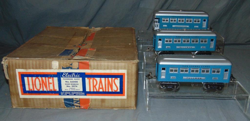 Partial Boxed Lionel/Sears Set 6500E