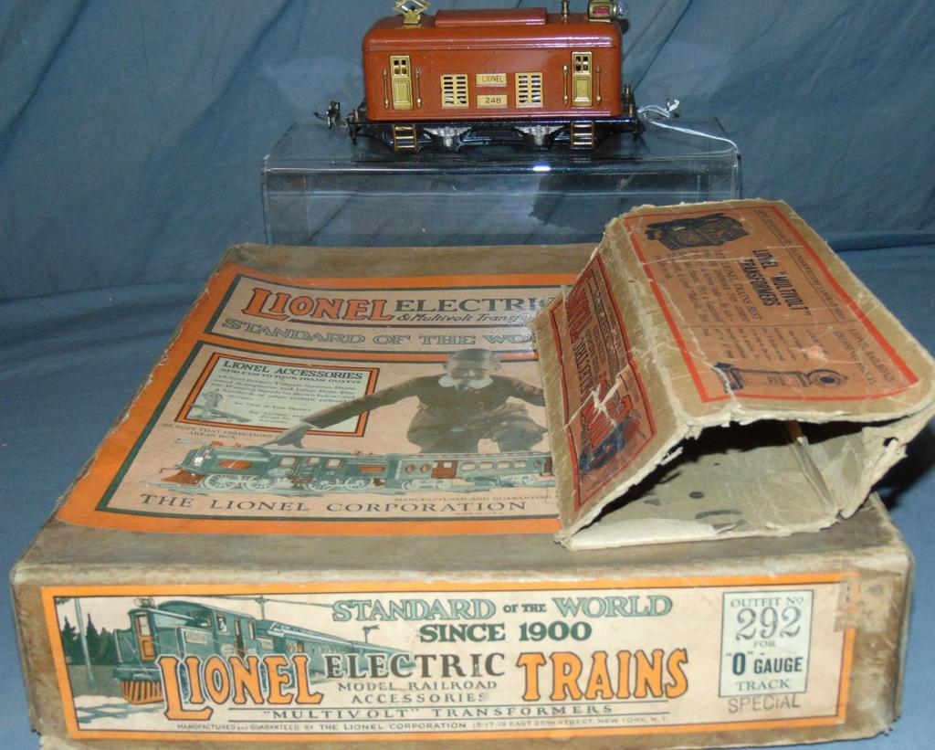 Unusual Partial Boxed Lionel Set 292 SPECIAL