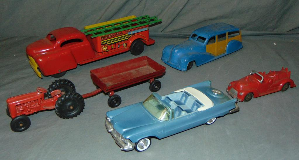 6Pc Toy Vehicle Lot