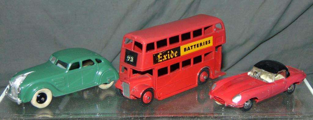 3 Pc Dinky Vehicle Lot