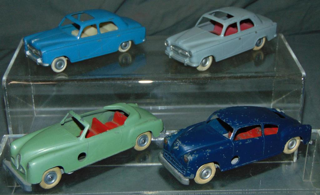 4 Early Solido Vehicles