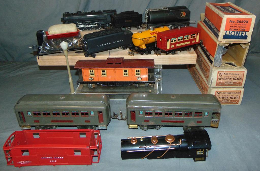 Assorted Lionel Pre War Trains