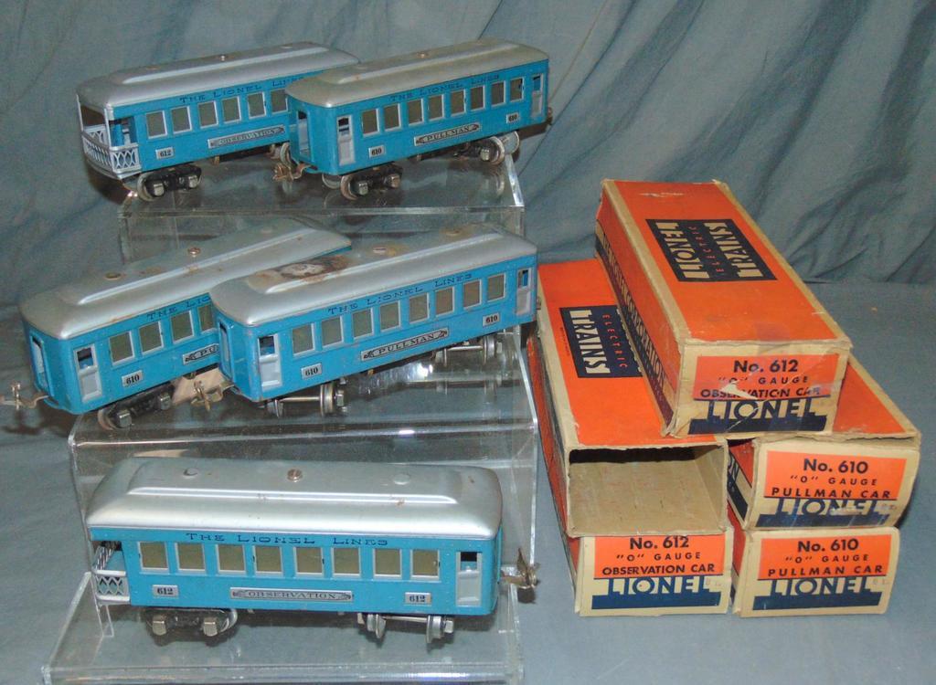 5 Scarce Lionel Passenger Cars